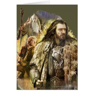Thorin, Bilbo, Gandalf Cards