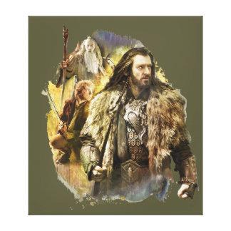 Thorin, Bilbo, Gandalf Impresiones En Lona