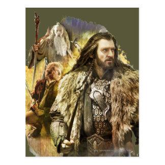 Thorin, Bilbo, Gandalf Post Card