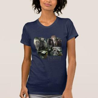 Thorin, Bilbo, y logotipo de Gandalf Camisetas