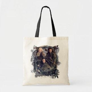 Thorin, Kili, and Balin Graphic Budget Tote Bag