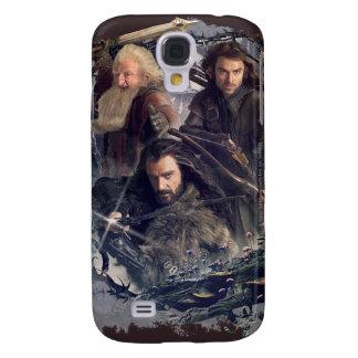 Thorin, Kili, and Balin Graphic Galaxy S4 Cover