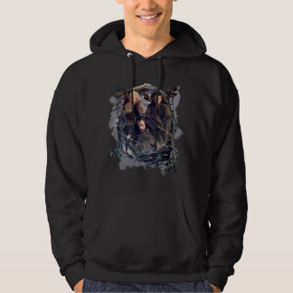 Thorin, Kili, and Balin Graphic Hoodie