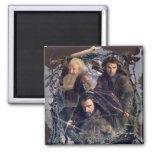 Thorin, Kili, and Balin Graphic Magnet