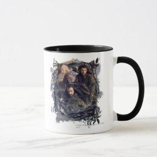 Thorin, Kili, and Balin Graphic Mug