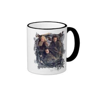 Thorin, Kili, and Balin Graphic Ringer Mug