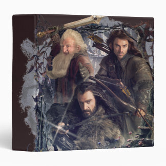 "Thorin, Kili, y gráfico de Balin Carpeta 1 1/2"""