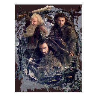 Thorin, Kili, y gráfico de Balin Tarjetas Postales