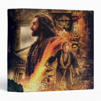 THORIN OAKENSHIELD™ and BAGGINS™ in Erebor 3 Ring Binder