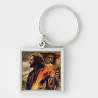 THORIN OAKENSHIELD™ and BAGGINS™ in Erebor Keychain