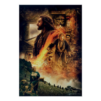 THORIN OAKENSHIELD™ and BAGGINS™ in Erebor Poster