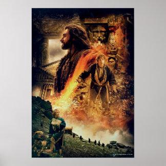THORIN OAKENSHIELD™ and BAGGINS™ in Erebor Poster