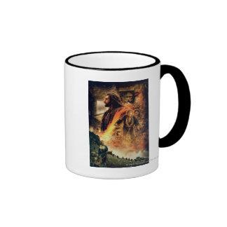 THORIN OAKENSHIELD™ and BAGGINS™ in Erebor Ringer Coffee Mug