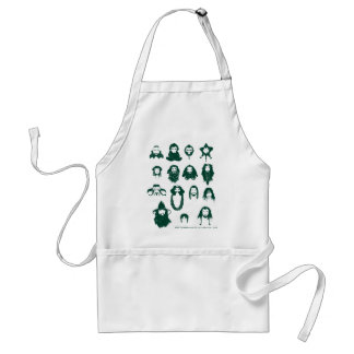 THORIN OAKENSHIELD™ and Company Hair Adult Apron