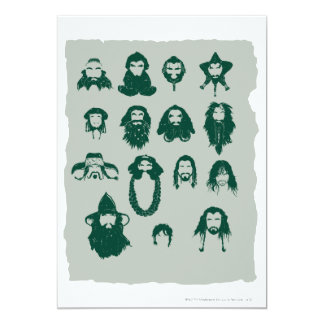 THORIN OAKENSHIELD™ and Company Hair Card