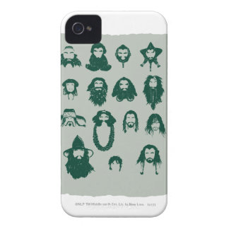THORIN OAKENSHIELD™ and Company Hair iPhone 4 Case-Mate Case