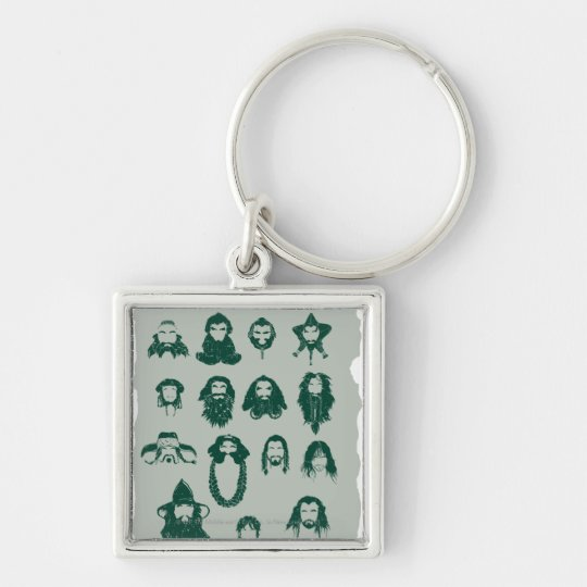THORIN OAKENSHIELD™ and Company Hair Keychain
