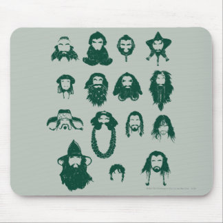 THORIN OAKENSHIELD™ and Company Hair Mouse Pad