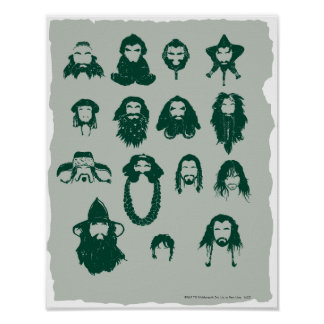 THORIN OAKENSHIELD™ and Company Hair Poster