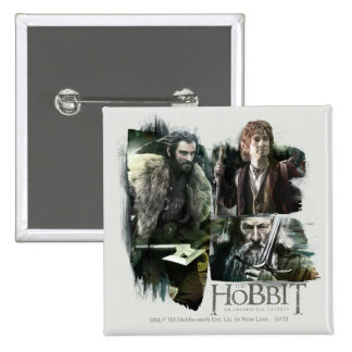 THORIN OAKENSHIELD™, BAGGINS™, and Gandalf Logo Button