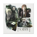 THORIN OAKENSHIELD™, BAGGINS™, and Gandalf Logo Canvas Print