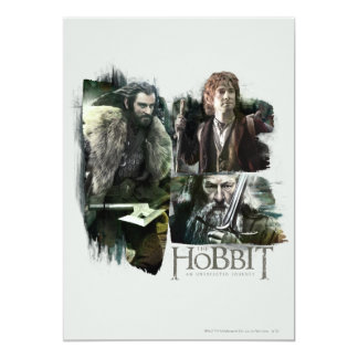 THORIN OAKENSHIELD™, BAGGINS™, and Gandalf Logo Card