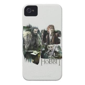 THORIN OAKENSHIELD™, BAGGINS™, and Gandalf Logo Case-Mate iPhone 4 Case