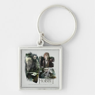 THORIN OAKENSHIELD™, BAGGINS™, and Gandalf Logo Keychain
