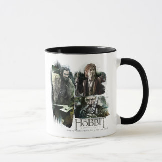 THORIN OAKENSHIELD™, BAGGINS™, and Gandalf Logo Mug