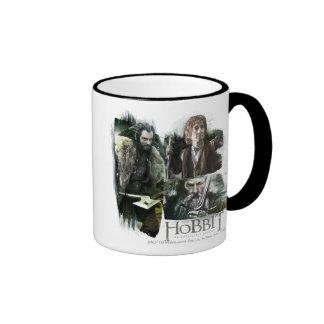 THORIN OAKENSHIELD™, BAGGINS™, and Gandalf Logo Ringer Mug