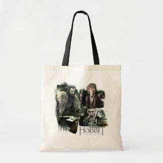 THORIN OAKENSHIELD™, BAGGINS™, and Gandalf Logo Tote Bag