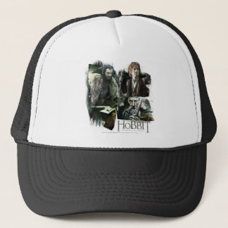 THORIN OAKENSHIELD™, BAGGINS™, and Gandalf Logo Trucker Hat