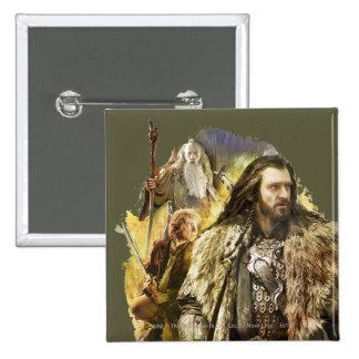 THORIN OAKENSHIELD™, BAGGINS™, Gandalf Pins