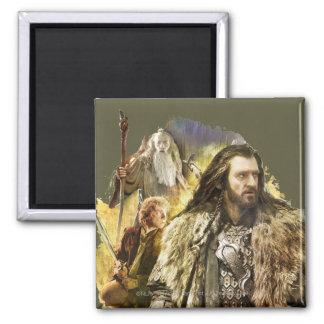 THORIN OAKENSHIELD™, BAGGINS™, Gandalf Fridge Magnets