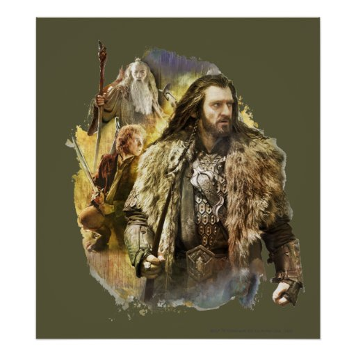 THORIN OAKENSHIELD™, BAGGINS™, Gandalf Poster