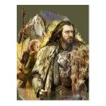 THORIN OAKENSHIELD™, BAGGINS™, Gandalf Tarjetas Postales