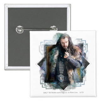 THORIN OAKENSHIELD™ Character Graphic Button
