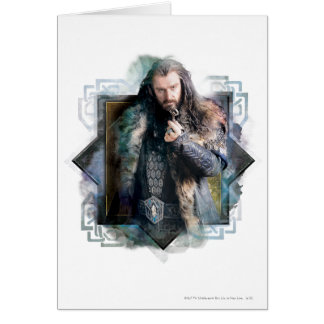 THORIN OAKENSHIELD™ Character Graphic Greeting Cards