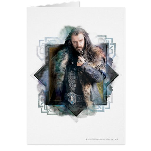 THORIN OAKENSHIELD™ Character Graphic Greeting Card