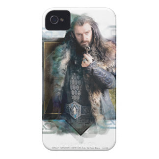 THORIN OAKENSHIELD™ Character Graphic iPhone 4 Cases