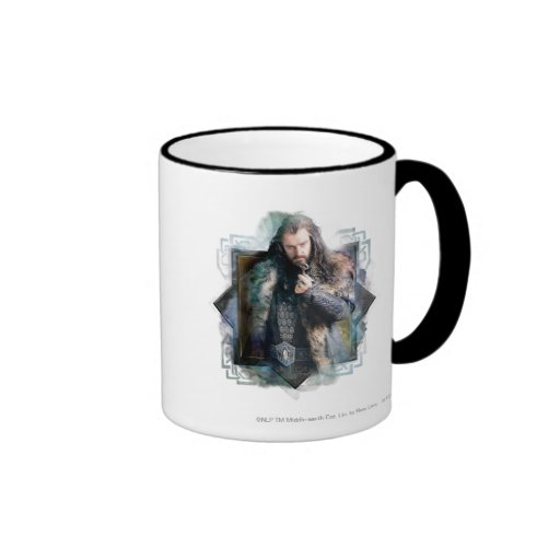 THORIN OAKENSHIELD™ Character Graphic Coffee Mugs