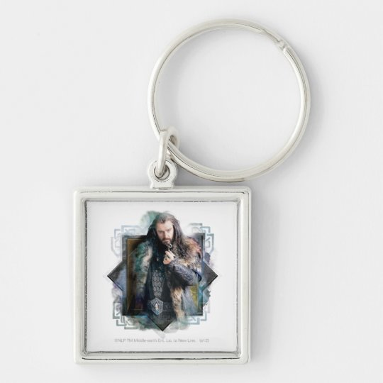 THORIN OAKENSHIELD™ Character Graphic Keychain