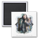 THORIN OAKENSHIELD™ Character Graphic 2 Inch Square Magnet