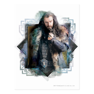 THORIN OAKENSHIELD™ Character Graphic Post Cards