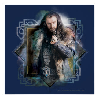 THORIN OAKENSHIELD™ Character Graphic Poster