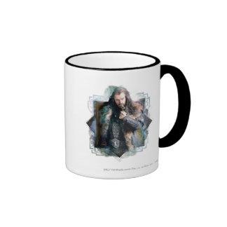 THORIN OAKENSHIELD™ Character Graphic Ringer Mug