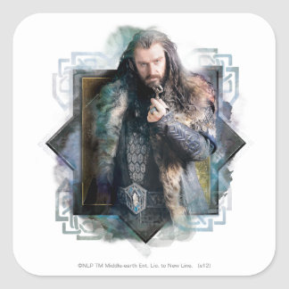 THORIN OAKENSHIELD™ Character Graphic Square Sticker