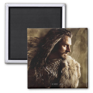 THORIN OAKENSHIELD™ Character Poster 1 2 Inch Square Magnet