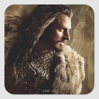 THORIN OAKENSHIELD™ Character Poster 1 Square Sticker