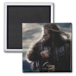 THORIN OAKENSHIELD™ Character Poster 2 2 Inch Square Magnet